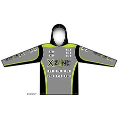 X-Zone Womens Hooded UV Jersey