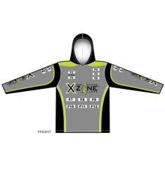 X-Zone Womens Hooded UV Jersey