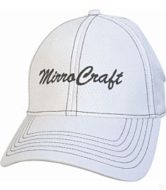 MirroCraft Performance Poly White Hat