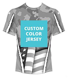 Americana Camo Jersey-Custom Color