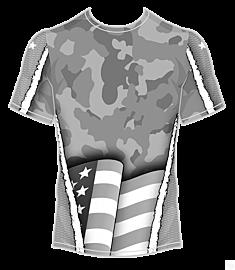 Americana Camo Jersey-Grey