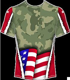 NYFA Americana Camo Jersey