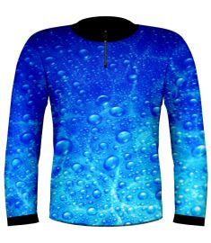 Bubbles Jersey-Blue