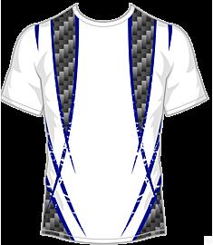 Double Cross Jersey-Blue