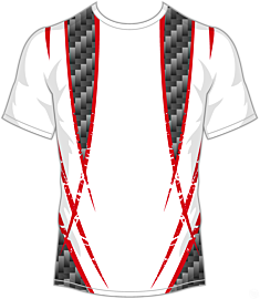 Double Cross Jersey-Red