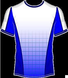 Grid Jersey-Blue
