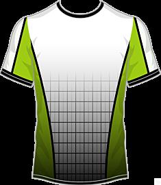 Grid Jersey-Green
