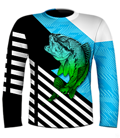 NYFA Kevin Hurrie Designs Large Mouth Bass Jersey