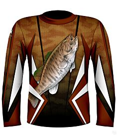 NYFA Kevin Hurrie Designs Small Mouth Bass Jersey