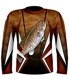 Kevin Hurrie Small Mouth Bass Jersey