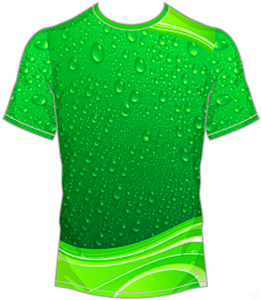 Liquid Jersey-Green