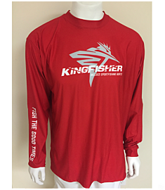 KingFisher UV Jersey-Red