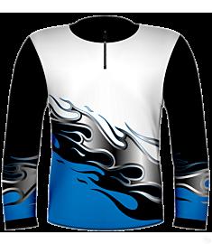 RH Flames Jersey-Blue