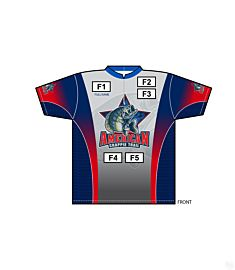 Mens American Crappie Trail Short Sleeve Jersey