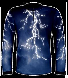 Hard Lightning Jersey-Blue