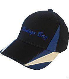 Montego Bay Blue Contrast Spikes Hat