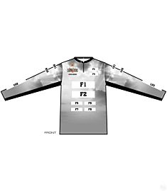 Cat Masters Womens Quarter Zip Stand Long Sleeve Jersey