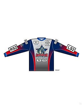 Matching American Crappie Trail Long Sleeve Jersey
