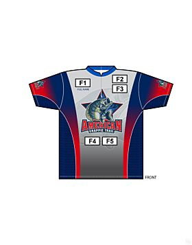 Matching American Crappie Trail Short Sleeve Jersey