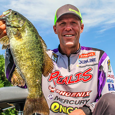 VF Outdoors fishing jerseys are trusted by Aaron Martens