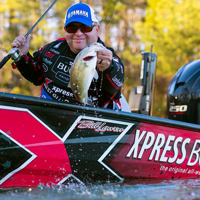 VF Outdoors fishing jerseys are trusted by Bill Lowen