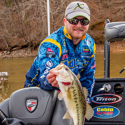 VF Outdoors fishing jerseys are trusted by Bradley Roy