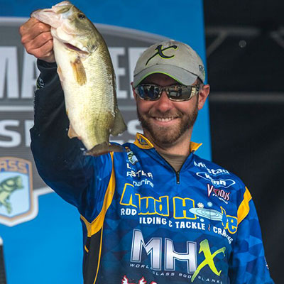 VF Outdoors fishing jerseys are trusted by Brandon Lester