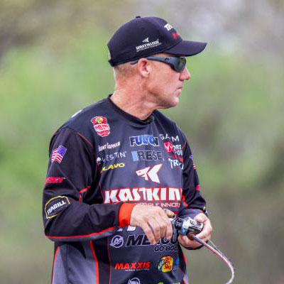 VF Outdoors fishing jerseys are trusted by Brent Chapman