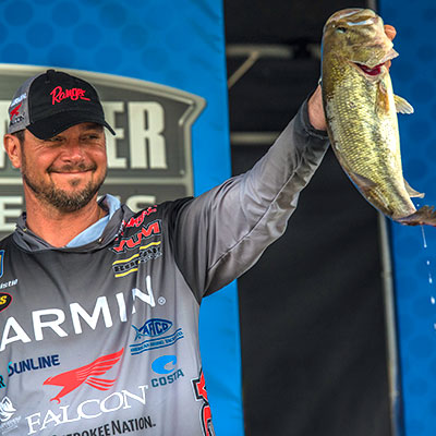 VF Outdoors fishing jerseys are trusted by Jason Christie
