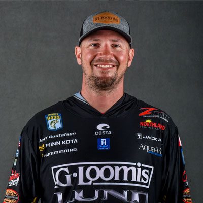 VF Outdoors fishing jerseys are trusted by Jeff Gustafson