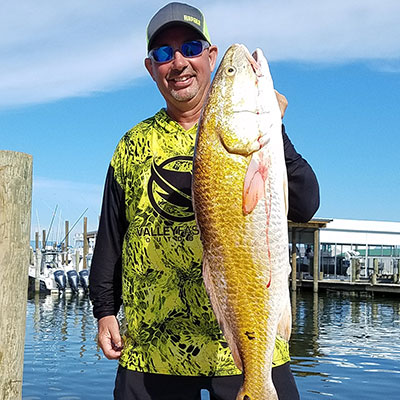 VF Outdoors fishing jerseys are trusted by Jim Crowley