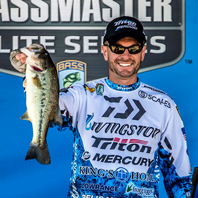 VF Outdoors fishing jerseys are trusted by Randy Howell
