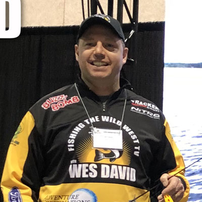 VF Outdoors fishing jerseys are trusted by Wes David